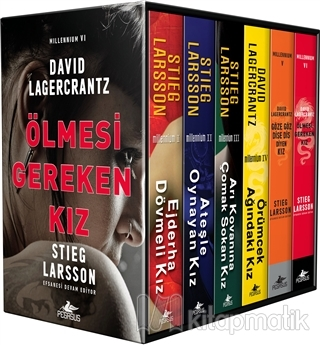 Millennium Serisi - Kutulu Özel Set (6 Kitap Takım) Stieg Larsson