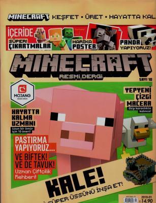 Minecraft Dergisi Sayı:10 2019-01