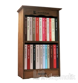 Mini Kitap Kütüphanesi (24 Kitap Takım)