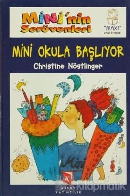 Mini'nin Serüvenleri 8 Kitaplık Süper Bir Dizi (Ciltli) Christine Nöst