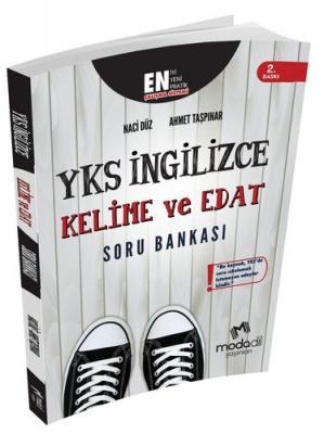 Modadil Yayınları YKS İngilizce Kelime ve Edat Soru Bankası Naci Düz