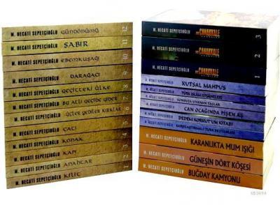 Mustafa Necati Sepetçioğlu Kitapları  set 1, (24 kitap)