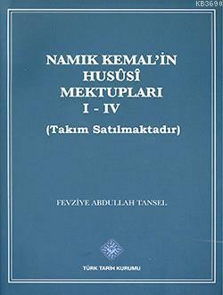 Namık Kemal'in Mektupları (4 Cilt Takım)