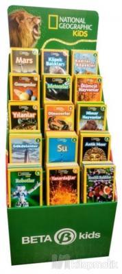 National Geographic Kids - Okuma Kitapları Stantı (280 Kitap)