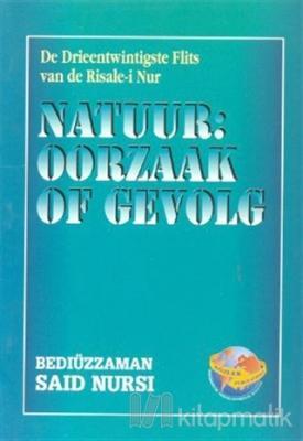 Natuur: Ooorzaak Of Gevolg (Flemenkçe)