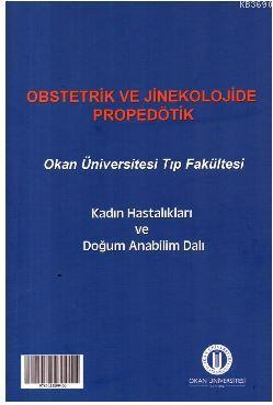Obstetrik ve Jinekolojide Propedötik