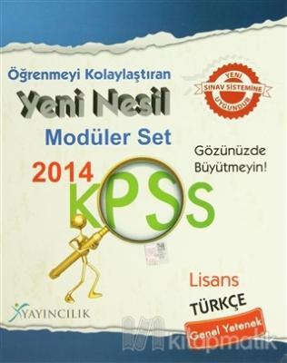 Öğrenmeyi Kolaylaştıran Yeni Nesil Modüler Set 2014 KPSS
