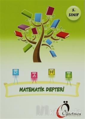 Öğretmen 5. Sınıf Matematik Defteri