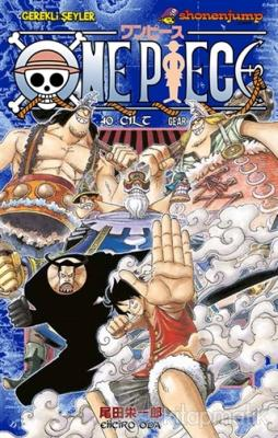 One Piece 40. Cilt Eiiçiro Oda