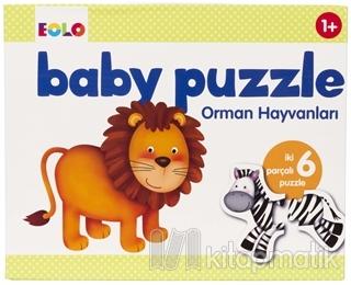 Orman Hayvanları - Baby Puzzle