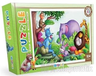 Orman Hayvanları - Puzzle (BF080)