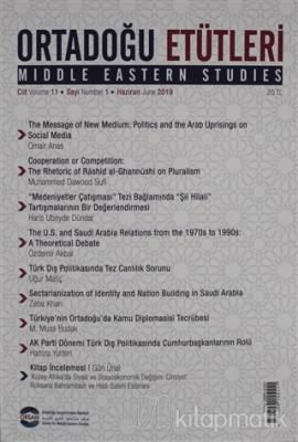 Ortadoğu Etütleri Cilt: 11 Sayı 1 Haziran 2019