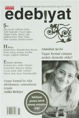 Özgür İki Aylık Edebiyat Dergisi Sayı: 36