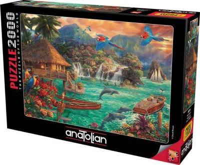 Anatolian Ada Hayatı 2000 Parça Puzzle (3939) Kolektif
