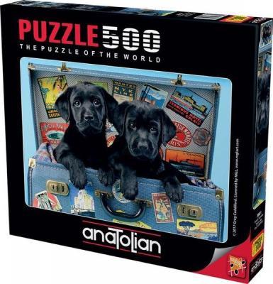 Anatolian Gezgin Köpekler 500 Parça Puzzle (3601) Kolektif
