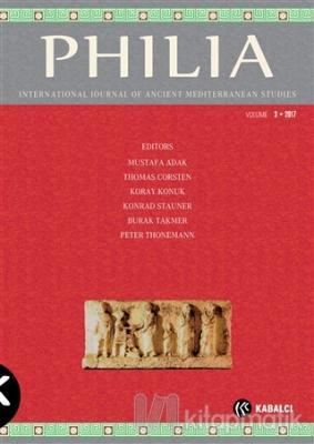 Philia Volume: 3 2017 (Ciltli)