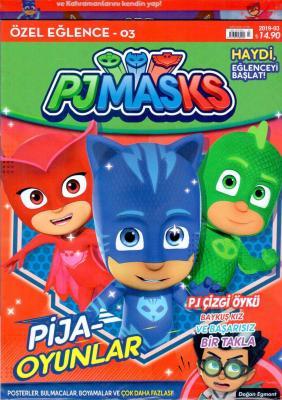 Özel Eğlence Pjmasks Dergisi Sayı: 2019/03