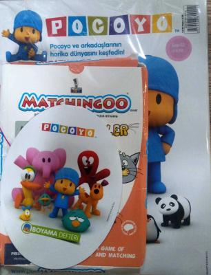 Pocoyo Oyuncak Hediyeli Çocuk Dergisi Sayı:2