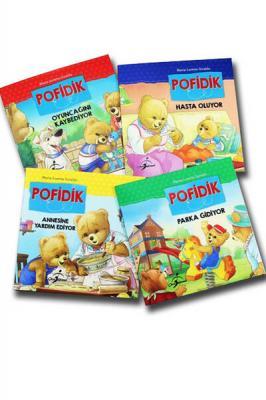 Pofidik Çocuklar İçin Hikaye Seti 4 Kitap 128 Sayfa Komisyon
