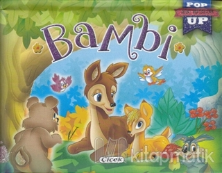 Pop-Up Mini Masallar - Bambi (Ciltli)