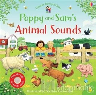 Poppy and Sam's Animal Sounds (Ciltli)