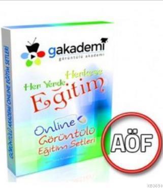 Pratik AÖF Muhasebe Uygulamaları Online Görüntülü Eğitim Seti