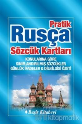 Pratik Rusça Sözcük Kartları