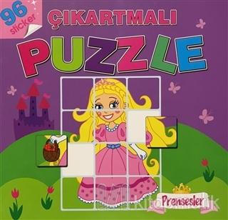 Prensesler - Çıkartmalı Puzzle