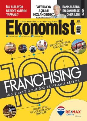 Ekonomist Dergisi Sayı:2019/08  24 Şubat 02 Mart 2019