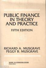 Public Finance In Theoy and Practice