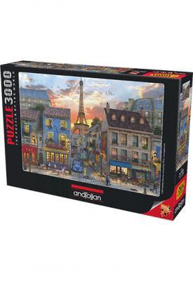 Anatolian Puzzle 3000 Paris Sokakları 4910 Kolektif