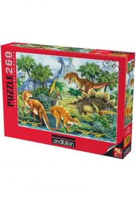 Anatolian Dinazorlar Vadisi I / Dino Valley I 3285 260 Parça Puzzle