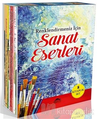 Renklendirmeniz İçin Sanat Eserleri Seti (8 Kitap)