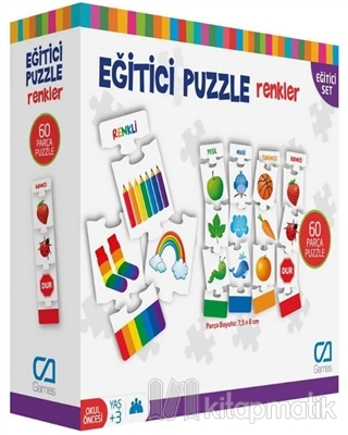 Renkler - Eğitici Puzzle