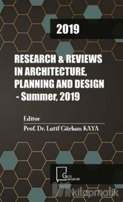 Research Reviews in Architecture Planning and Design