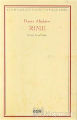 Rime Şiirler Dante Alighieri