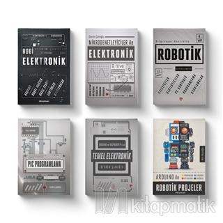 Robotik ve Elektronik Eğitim Seti (6 Kitap Takım) Devrim Çamoğlu