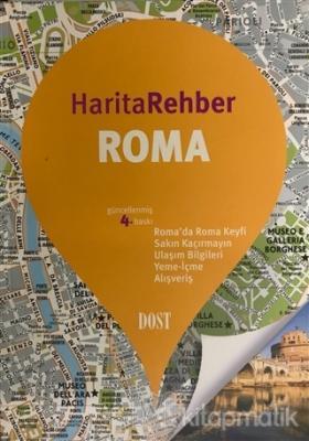 Roma Harita Rehber (Ciltli)