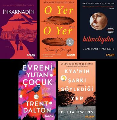 Salon Yayınları Edebiyat Seçkisi Nurten Kelleveziroğlu Tosun