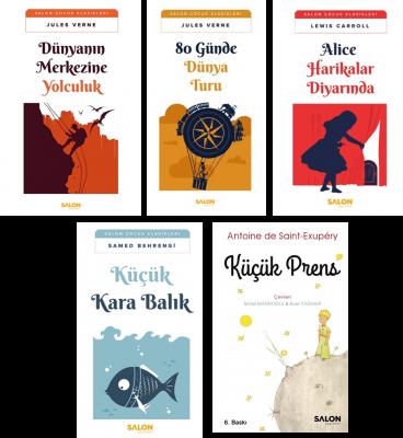 Salon Çocuk Klasikleri Serisi-1 Jules Verne