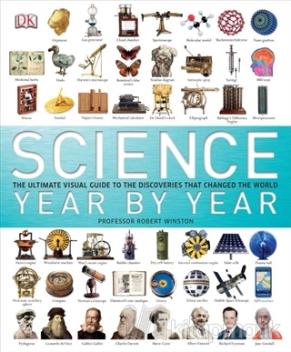 Science Year by Year (Ciltli)