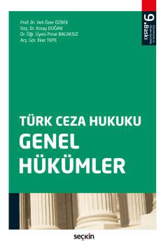 Türk Ceza Hukuku Genel Hükümler