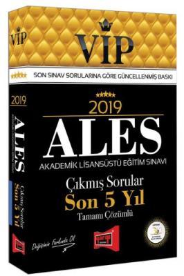 2019 ALES VIP Tamamı Çözümlü Son 5 Yıl Çıkmış Sorular %40 indirimli