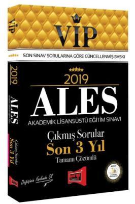 2019 ALES VIP Tamamı Çözümlü Son 3 Yıl Çıkmış Sorular