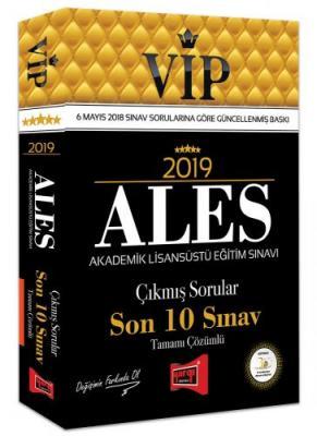 2019 ALES VIP Tamamı Çözümlü Son 10 Sınav Çıkmış Sorular