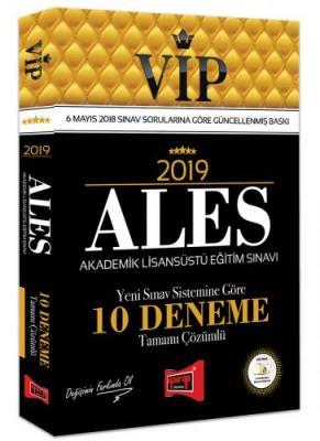 2019 ALES VIP Yeni Sınav Sistemine Göre Tamamı Çözümlü 10 Deneme