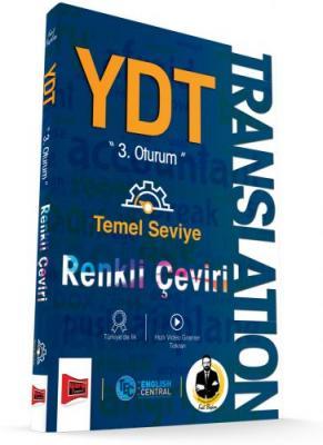 YKS 3. Oturum YDT Translation Temel Seviye Renkli Çeviri