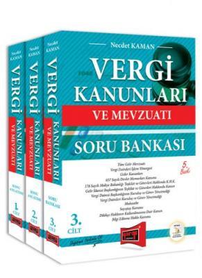 Vergi Kanunları ve Mevzuatı Konu Anlatımı ve Soru Bankası 3 Kitap