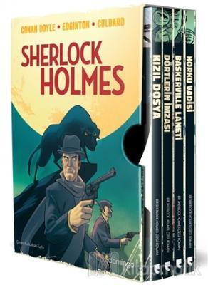 Sherlock Holmes Kutulu Set (4 Kitap Takım) %28 indirimli Sir Arthur Co