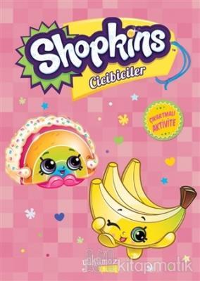 Shopkins Cicibiciler Çıkartmalı Aktivite - Pembe Kitap